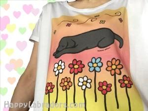 ラブラドールのTシャツ女性用(UTme!) by ハッピーラブラドールズ