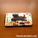 可愛いラブラドールのiPhone6ケース by ハッピーラブラドールズ