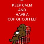 Keep Calm チョコレートラブラドールのイラストグッズ by ハッピーラブラドールズ