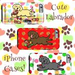 可愛いラブラドールのiPhone6ケースです by ハッピーラブラドールズ