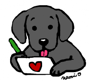 Black Labrador Cartoon