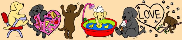 Labrador Cartoon Design Gifts