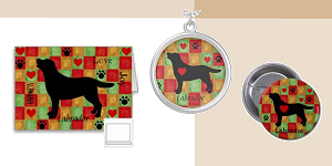 Black Labrador Retriever Outline Gifts
