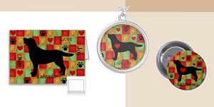 Black Labrador Retriever Outline Gifts