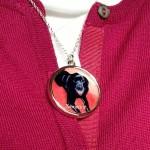 Black Labrador Necklace