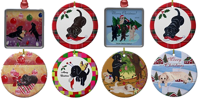 Labrador Ornaments by HappyLabradors.com