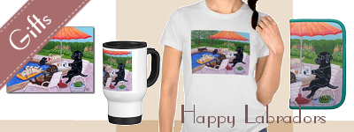 Happy Labradors Store Banner