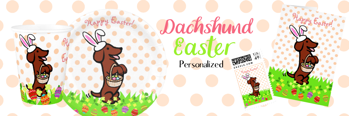 Dachshund Easter Gifts