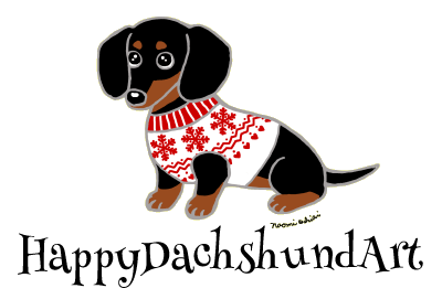 HappyDachshundArt