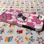 ラブラドールと桜の可愛いiPhone5ケースです