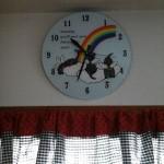 ハッピー・ラブラドールズの時計です