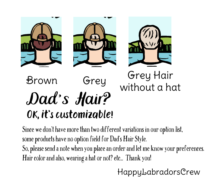 パパのヘアスタイル