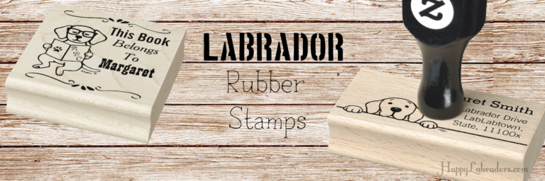ラブラドールの可愛いゴム印 by ハッピーラブラドールズ