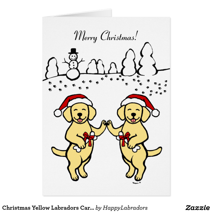 labrador retriever christmas cards – HappyLabradors.com