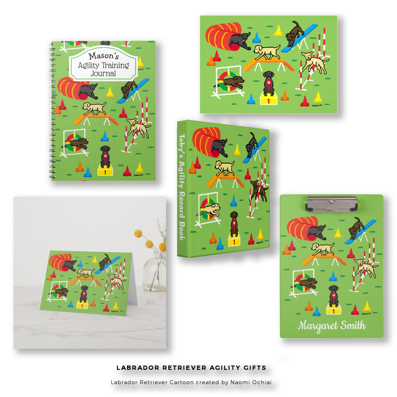 Labrador Retriever Agility Gift Collection by HappyLabradors @zazzle