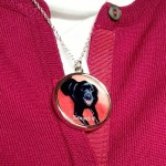 Black Labrador Necklace