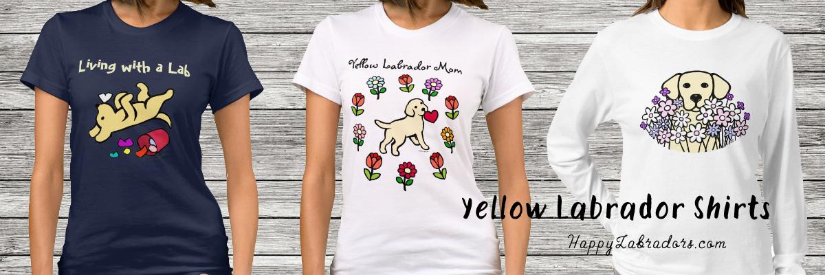 Popular Yellow Labrador Tshirts Collection
